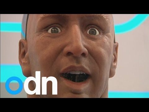The robots are coming! Humanoid interacts with people