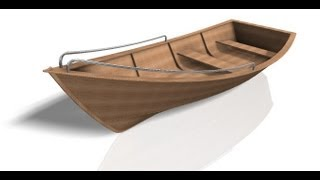 Autodesk Inventor - Part II - Design of a small Boat