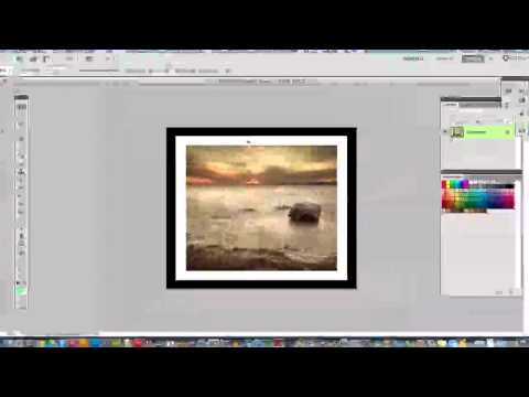 Photoshop Tutorial - How To Add Borders To Images In Photoshop