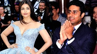 Abhishek Bachchan BLUSHES on Aishwarya Rai Bachchan Cannes 2017 Look