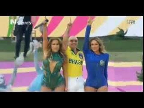 Watch Pitbull Ft. Jennifer Lopez & Claudia Leitte - We Are One (Ole Ola) Live From Sao Paolo