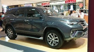 Quick Preview : 2019 Toyota Fortuner 2.4V 4WD