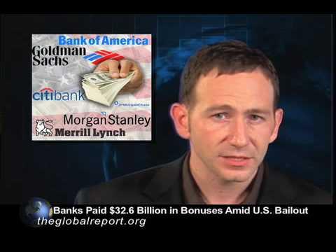 Banks Paid $32.6 Billion in Bonuses Amid U.S. Bailout