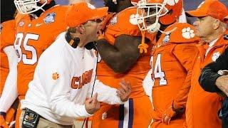 Clemson Players Imitate Dabo Swinney | Orange Bowl Media Day