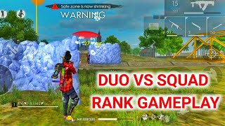 DUO VS SQUAD RANK GAMEPLAY. Gaming Subrata