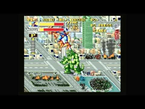CGRundertow KING OF THE MONSTERS for Neo Geo / Arcade Video Game Review