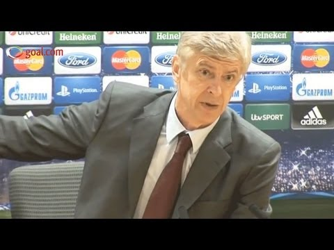 Arsene Wenger explains his outburst