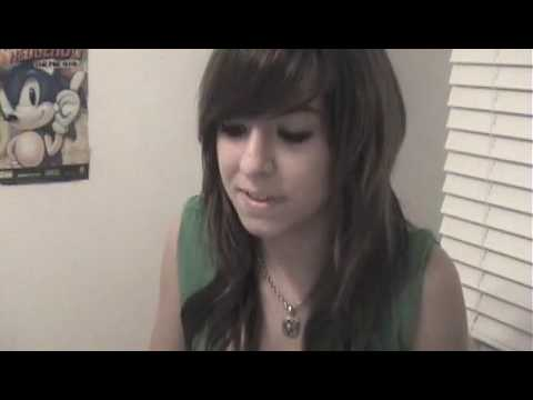 Me Singing party In The Usa By Miley Cyrus - Christina Grimmie video