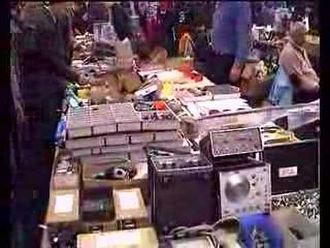 impression of the amateur radio fleamarket in Dortmund DL