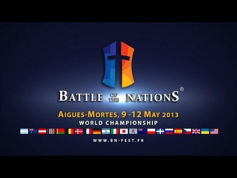 ONLINE RECORD Battle of the Nations 2013. Day 2