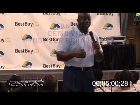 Earvin Magic Johnson Jr. B-Roll video at the Mall Of America for Best Buy