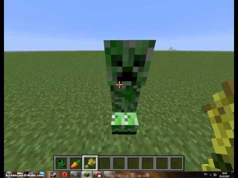 Как в Minecraft сделать крипера и как его приручить