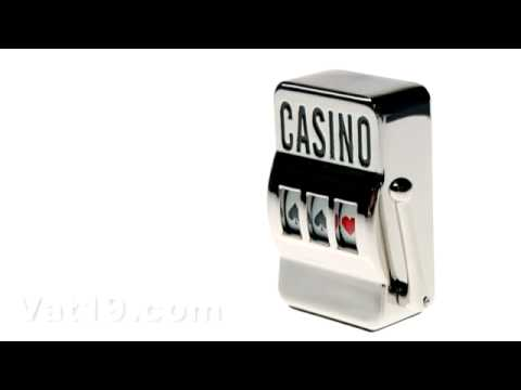 Slot Machine Paperweight
