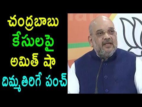 BJP President Amit Shah Punch Comments On TDP AP CM Babli Court Cases Issue  | Cinema Politics