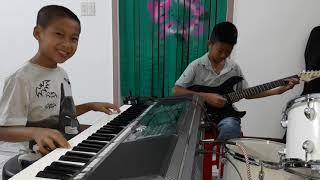 Hòa tấu Guitar-Organ Mưa rừng - Nhạc sống Phong Bảo, Khánh Hòa. ĐT: 01222663580