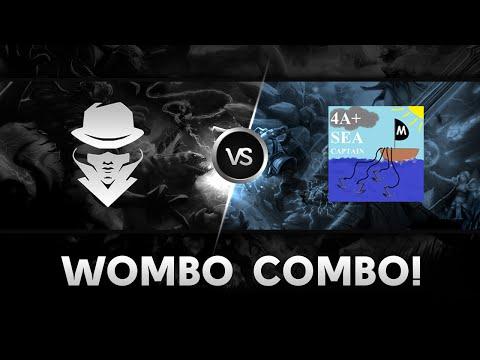 Wombo Combo by Team Secret vs 4ASC  StarSeries XI