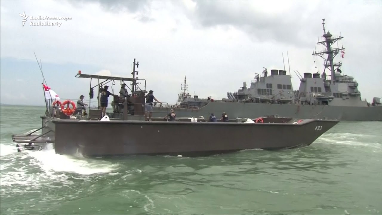 U.S. Sailors Missing After Maritime Collision Off Singapore