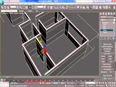 Modelar casa en 3d max partiendo de un plano