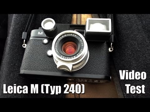 Leica M Video Test