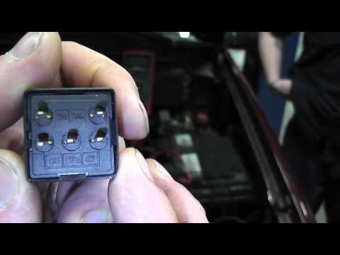 GM Fuel Pump Relay Testing