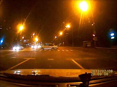 Авария на окружной в Воронеже. 08.02.2013