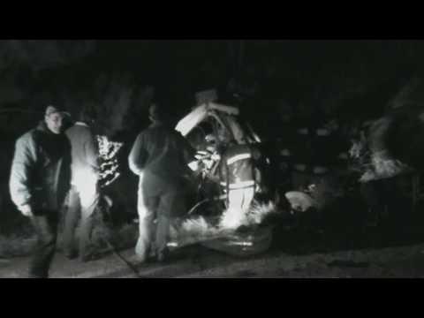 Caminhoneiros moreram no choque entre duas carretas no trevo das BRs 158 e 392