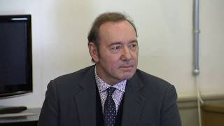 Full video: Kevin Spacey's arraignment on Nantucket