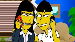 CRAZY Asian Landlord Prank (animated) - Ownage Pranks