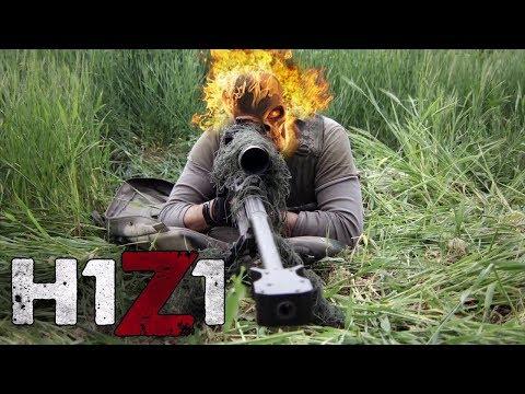 H1Z1 SOLO JOGANDO DE SNIPER