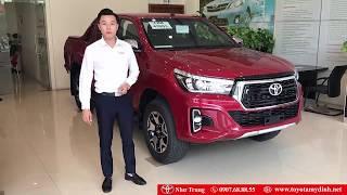 Đánh Giá Toyota Hilux Paltinum 2019 Có Gì Mới-Như Trung Toyota