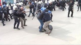 'Eskişehir'e gelme Tayyip' diyenlere polisin sert saldırısı. 183 kişi gözaltına alındı.