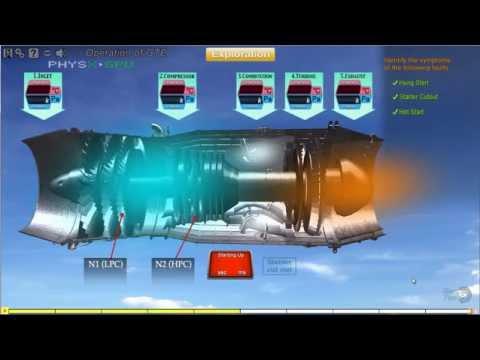 Gas Turbine Engine Operations Training Module