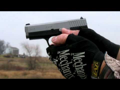 Shooting The Kahr CW9  9MM  Pistol + Slo Mo