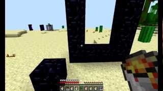Как построить портал в ад в minecraft pocket