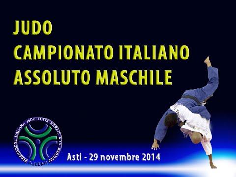 JUDO - CAMPIONATO ITALIANO ASSOLUTO MASCHILE 2014