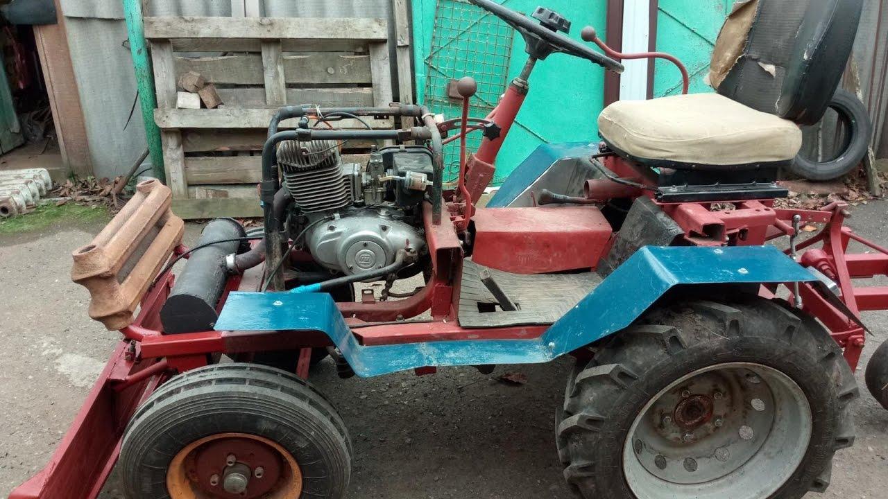 Как сделать большой трактор своими руками 61