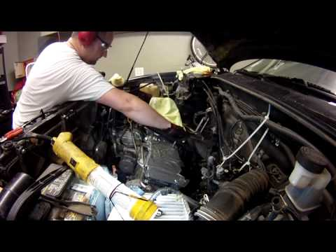 how to fix stripped threads on engine block