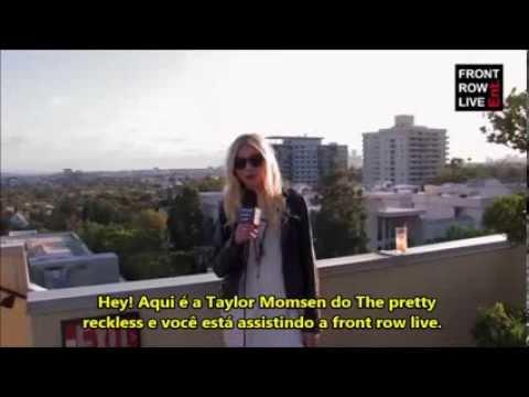 Entrevista da Taylor Momsen para o Front Row Live [LEGENDADO]
