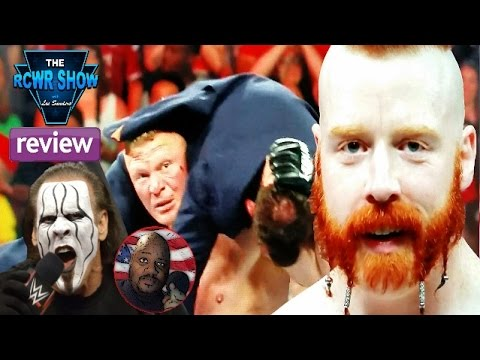 WWE Raw 3-30-15 Review: Brock Lesnar Snaps & Gets Suspended! Sting's WWE Future Revealed! RCWR Show