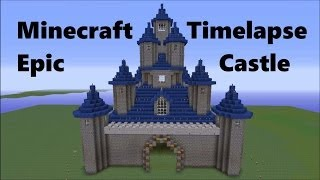 Building a castle in fast forward mode! Awesome! (Timelapse)