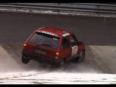 Nürburgring Nordschleife backwards Crash Rallye Köln Ahrweiler 2016