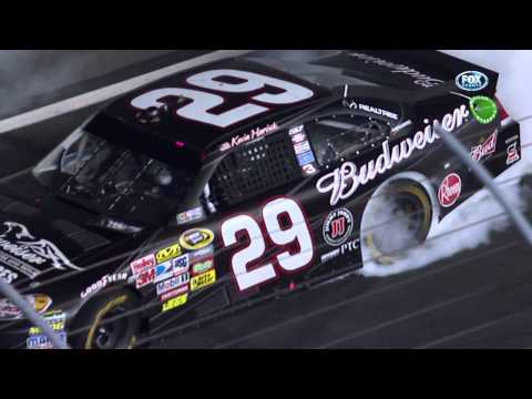 2011 NASCAR Coca Cola 600 Final Restart and Finish