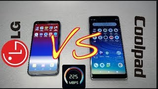 LG Q7 Plus VS CoolPad Legacy (Speed Test) Who Is the Winner ?