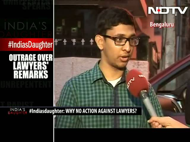 #Indiasdaughter: Outrage over lawyers' remarks