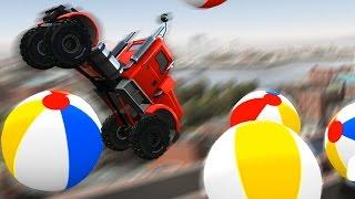 МАШИНЫ МОНСТРЫ #4 Игровой мультик про машинки танки тачки для детей мультфильм гонки на машинах MMX