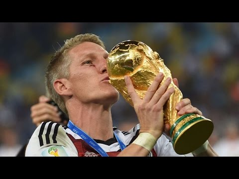 Bastian Schweinsteiger - All Goals for Germany(The New Captain)