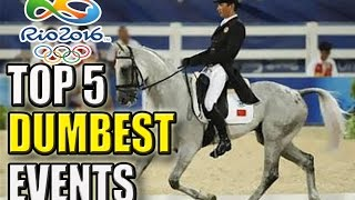 Top 5 Dumbest Olympic Sports Of All Time