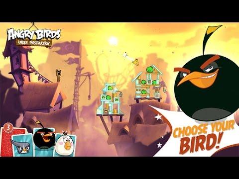 Bomb Bird Angry Bird Angry Birds Under Pigstruction