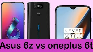 Asus 6z vs oneplus 6t | Which is better | Comparison 🔥🔥🔥