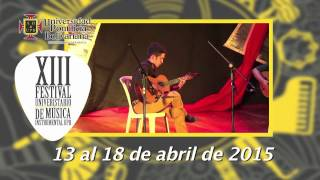 XIII Festival Universitario de Música Instrumental UPB 2015
